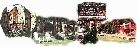 Color Photographs Of Ruidoso Sierra Blanca Cabins, Recreation And Bar B Q  Area