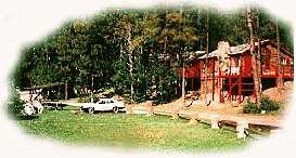 Photo Of Ruidoso Sierra Blanca Cabin Facing Open Area And River